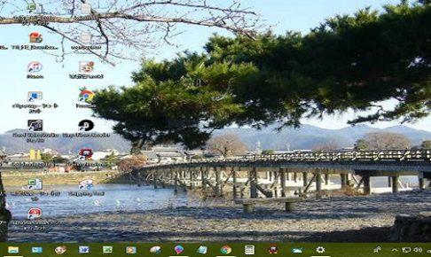 嵐山の渡月橋